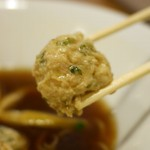 中華蕎麦 あお木 - 鶏団子