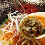 ろく月 - 坦々麺の肉味噌