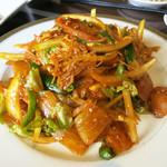 トウホクコウヤンテイ - 冷麺焼き(烤冷面) 1200円
