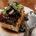 台南担仔麺 - ピータン豆腐