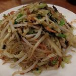 台南担仔麺 - 焼きビーフン