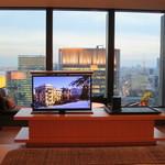 アマン東京 - 収納できるテレビ