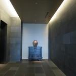 アマン東京 - 客室へのエレベーターホール