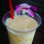 光楽園 - パイナップルミルク 400円