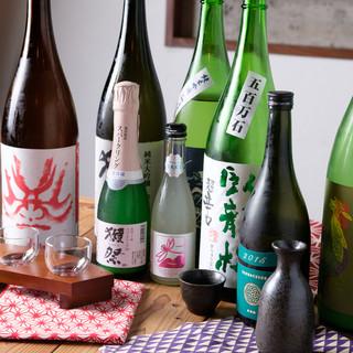 全国の蔵元より厳選した極上日本酒