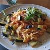 オステリア ボボレッティ - 料理写真:揚げナスと生姜のトマトソースパスタ