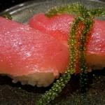 琉球回転寿司 海來 - 県産マグロ 一貫340円