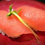 琉球回転寿司 海來 - マグロ赤身 270円