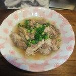 高田馬場応援団 - 和牛スジ煮込み ¥350