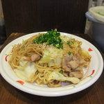 高田馬場応援団 - オリジナル味噌焼きそば ¥650