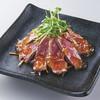 焼肉屋くいどん - 料理写真:炙り牛のタタキポン酢ジュレ