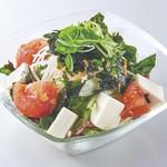 くいどん - 豆腐サラダ