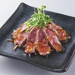 くいどん - 炙り牛のタタキポン酢ジュレ