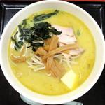 かわら - 料理写真:味噌カレー牛乳ラーメン_849円