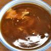 新井屋 - 料理写真:カレー南蛮蕎麦 大盛 660円