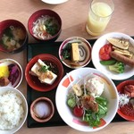 65703163 - 和朝食を取り揃えました