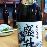 盛升 - 焼酎に瓶ビール