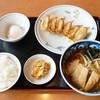 中華そば てんほう - 料理写真:ぎょうざとミニ肉揚げ中華そばの A定食