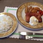 ビストロアデン - チキン南蛮+ライス(Aセット)