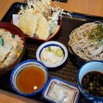 そば吉 - 料理写真:かつ丼セット