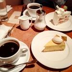 ラ・ピエスモンテ - ケーキセット