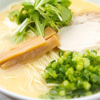 男寿狼自慢【鶏白湯スープ】