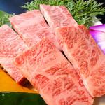 ひびの亭 - 和牛特撰バラ1,380円(税込1,490円)…塩適度に脂が入り、柔らかさも味もバツグン。
