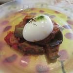 65708473 - 「南仏野菜のラタトゥイユ 半熟卵と共に」