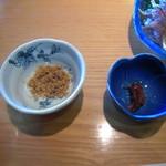 磯料理 開福丸 - 続いて小鉢