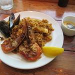 バル デ エスパーニャ ムイ - 魚介のパエジャ