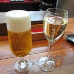 バル デ エスパーニャ ムイ - 生ビール 500円 & カヴァ 600円
