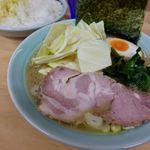 会心のラーメン 捲り家 - 塩ラーメン 750円