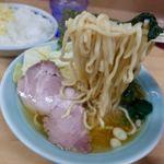 会心のラーメン 捲り家 - 料理写真:ラーメン 750円