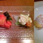 グストーソ 銀座 - ランチコース(前菜&デザート)