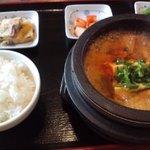 百済屋 - 500円の定食