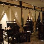 カフェ ラグーン - ゆったり落ち着ける半個室