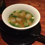 65710833 - セットのスープ