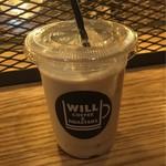 ウィルコーヒー - チャイラテ。シナモンが効いたアジアンなお味。
