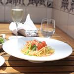 Terrace Dining TANGO - ランチのパスタ