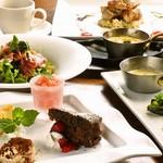 鉄板焼ビストロ よしむら - ランチ:野菜ソムリエのビストロコース