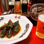 香港 - ピータン & ビール