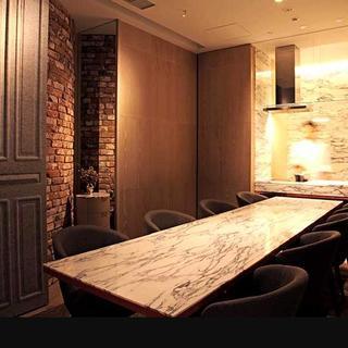 シェフズテーブルとしてもご利用頂けるプライベートルーム