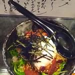 居酒屋 神威 - 角煮丼(温玉のせ)