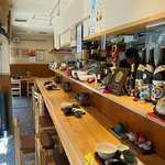 うま味処 つるき屋 - うま味処 つるき屋 @本蓮沼 定食に付く三つ葉とあおさの味噌汁