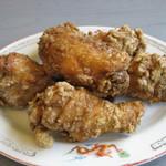 千休 - 若鶏唐揚げ(小)530円