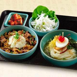 自慢の韓国料理お得なランチメニュー