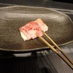 串ばる 北野坂店 - チーズベーコン