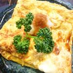 中国山地蕎麦工房ふなつ - 卵焼き