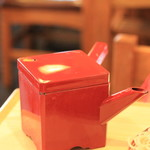 角平 -  蕎麦湯はさらっとしています