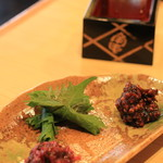 角平 -  酒肴3種盛